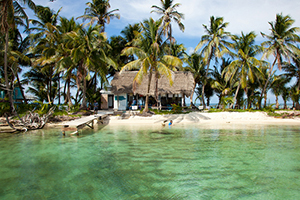 Ranguana Caye Is A Two Acre Belize Private Island Which Maintained And Managed By Robert S Grove Beach Resort Pre Eminent Placencia
